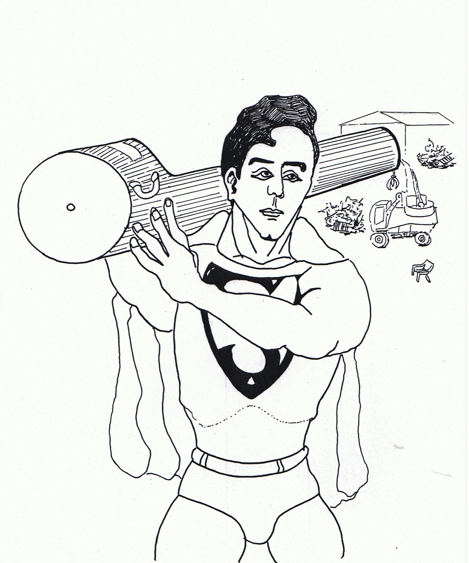 super boy coloring pages - photo#34