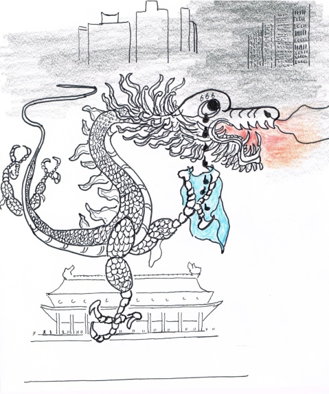 The Sleeping Dragon, China, finally admits it is choking on its own pollution