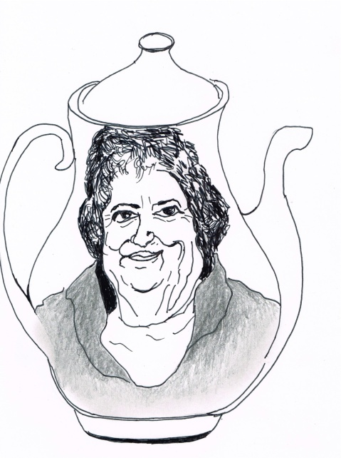 "Canadian singer/songwriter Rita MacNeil's last request was to have her ashes placed in a teapot at her funeral. [All sing: ""I'm a Little Teapot""]"