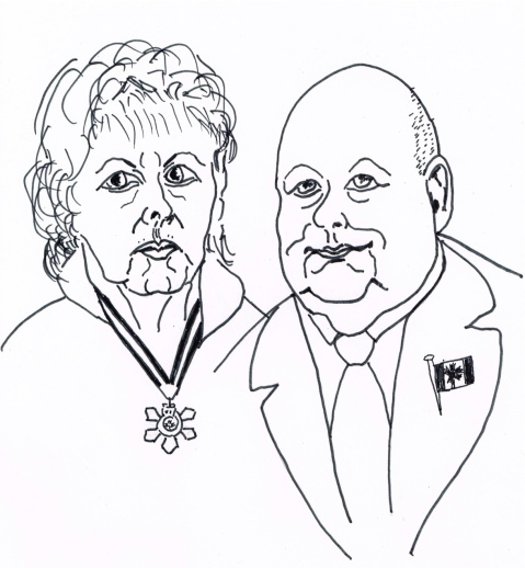 Senators and Order of Canada recipients Pamela Wallin and Mike Duffy resign from caucus over Senate expense-claim scandal