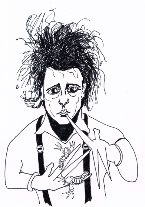"Newly discovered Canadian fossil named ""Kooteninchela deppi"" in honour of Depp's ""Edward Scissorhands"" charactor."