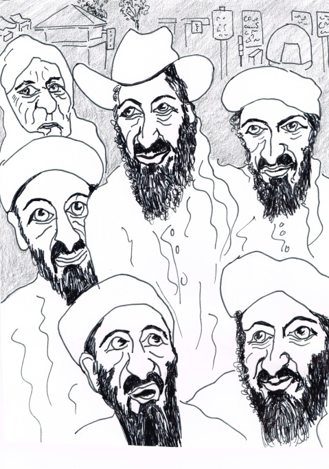 "The Abbottabad commission condemns the Pakistan Military and Intelligence for failing to notice Osama bin Laden hiding ""in plain sight"" less than 50 kilometres from the Capital, [though he was wearing a cowboy hat as a disguise]."