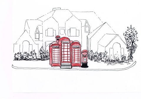 "BT is selling off iconic red telephone kiosks for £1950, a frugal option for Vancouver's proposed mini ""Laneway"" housing"