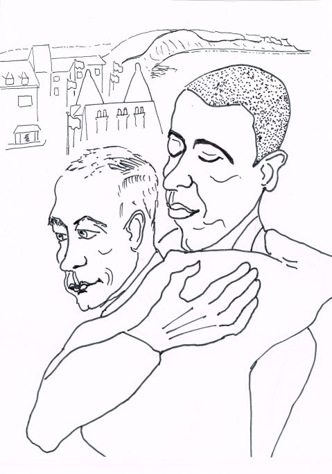 Obama and Putin:  70 years ago we were Allies!