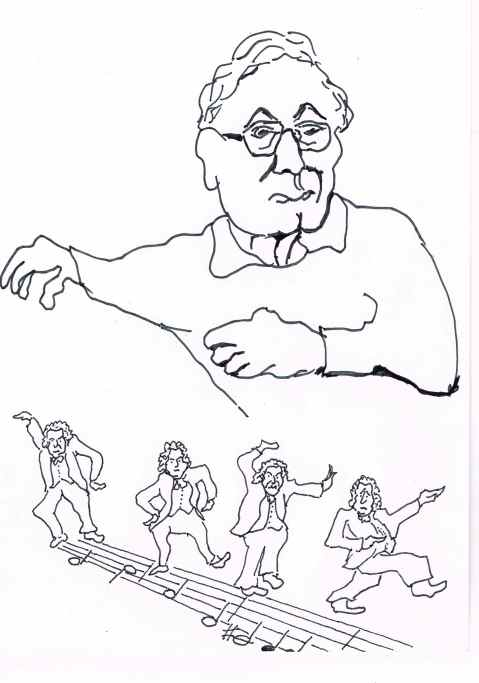 Ward Swingle1927---Jan.19th.2015. Founder of the Swingle singers,famous for their jazzed up interpretations of Bach.