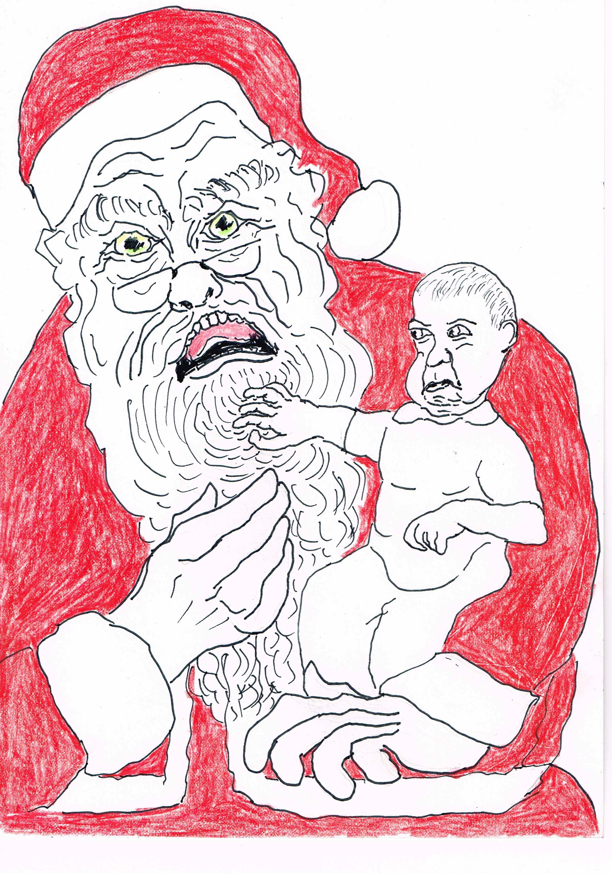 Santa's with real beards get paid 50% more than Santa's with fake beards.