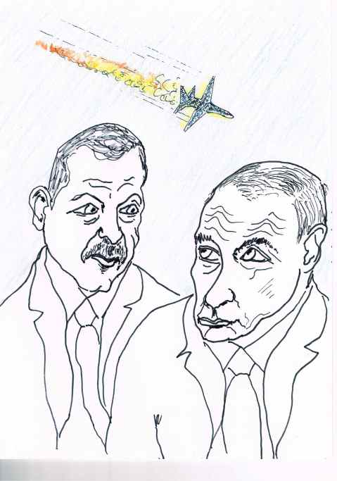 Russian - Turkish relations have deteriorated in the aftermath of the downing of a Russian jet.