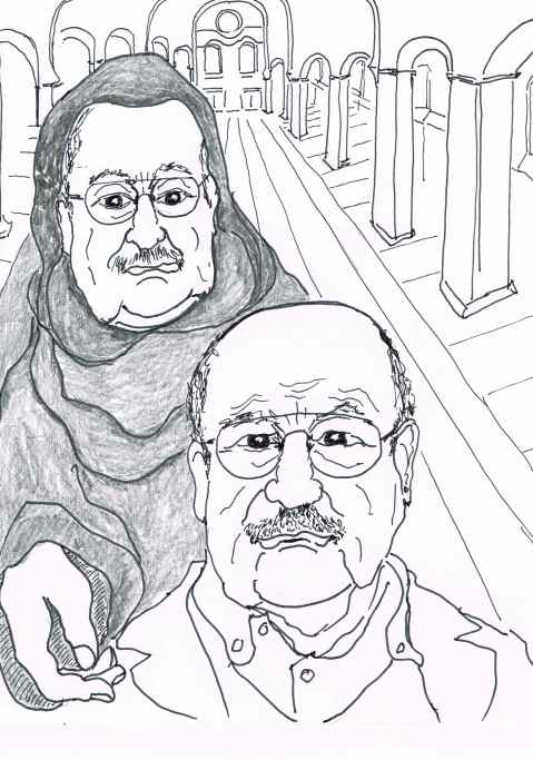 Umberto Eco [1932--19th Feb.2016]Italian intellectual and novelist [the Name of the Rose].