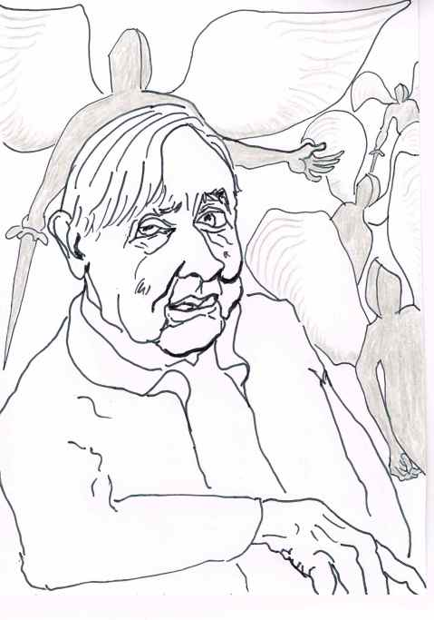 Einojuhani Rautavaara.Composer.1928 - July 27,2016.