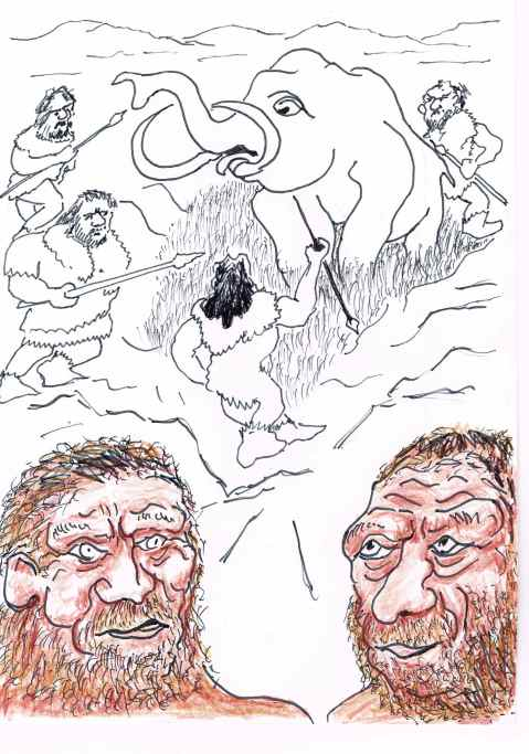 Prof.Mark Collard thinks that inadequate clothing for the climate contributed to the extinction of the Neanderthals.