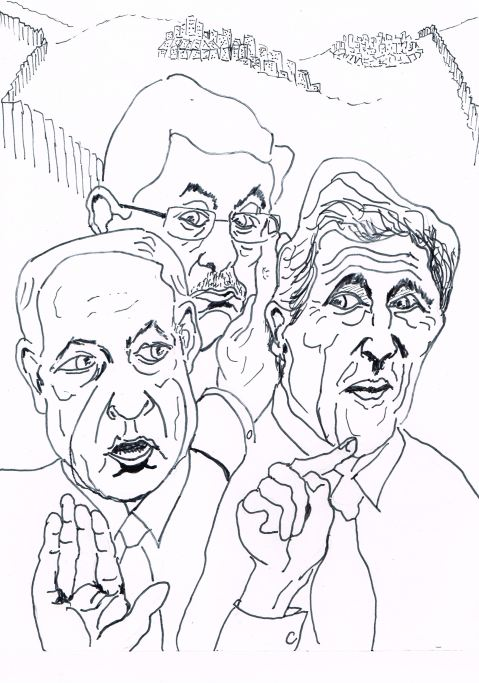 Benjamin Netanyahu gets indignant over John Kerry's parting shot.