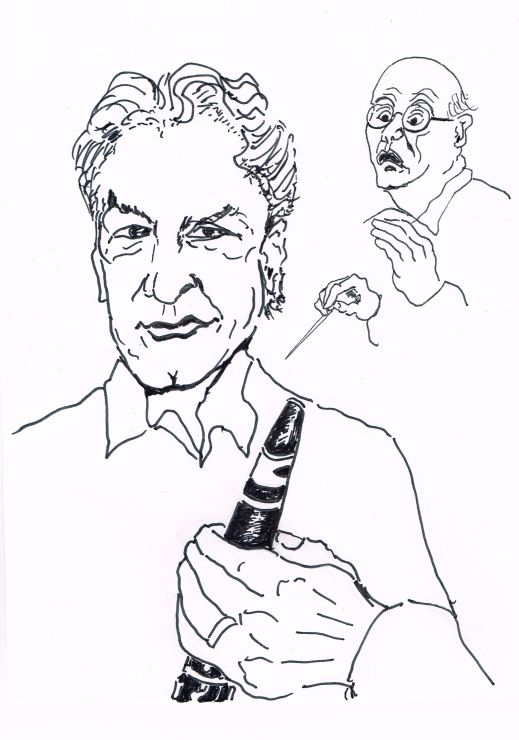 Principal Clarinet LSO,Founder of the Melos ensemble,Founding member of the Chamber music Society of the Lincoln Centre.